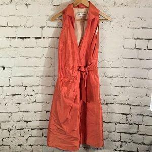 Sarah Campbell | silk wrap dress | Sz 4